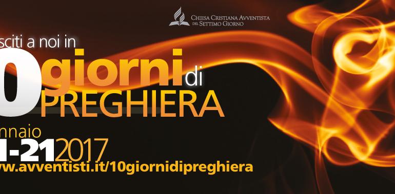 COMINCIA IL 2017 CON I 10 GIORNI DI PREGHIERA