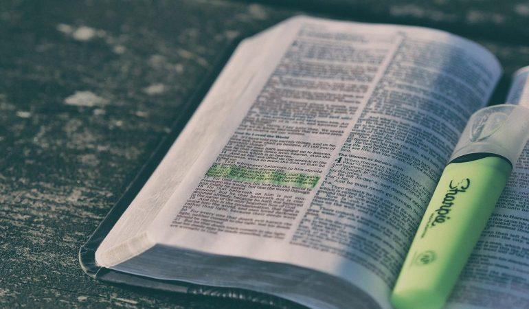 SETTE VERSETTI BIBLICI PER INIZIARE L'ANNO IN MODO GIUSTO
